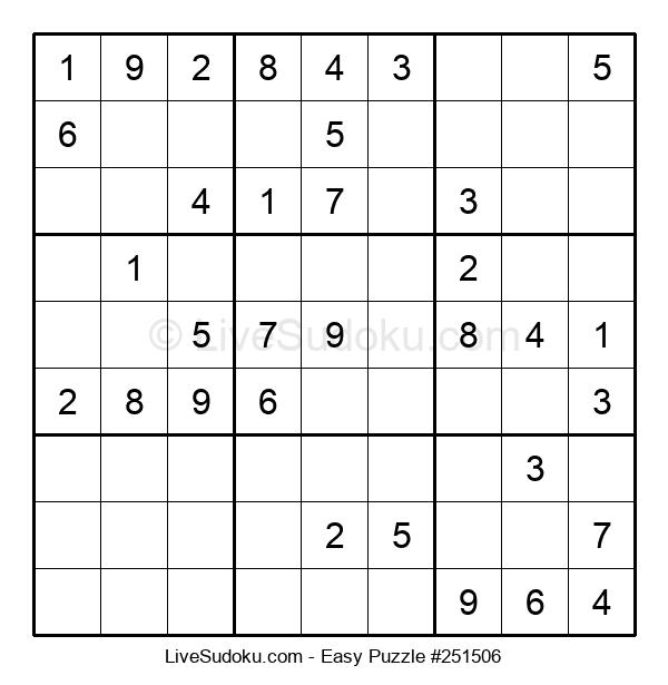 Beginners Puzzle #251506