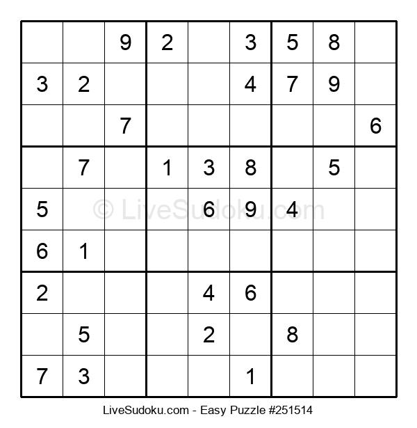 Beginners Puzzle #251514