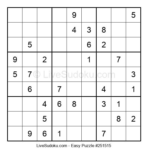 Beginners Puzzle #251515