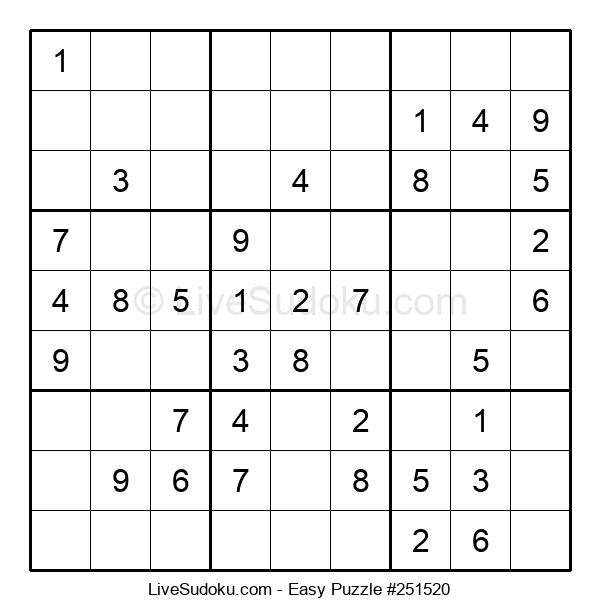 Beginners Puzzle #251520
