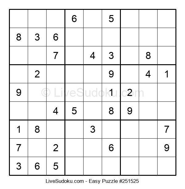 Beginners Puzzle #251525