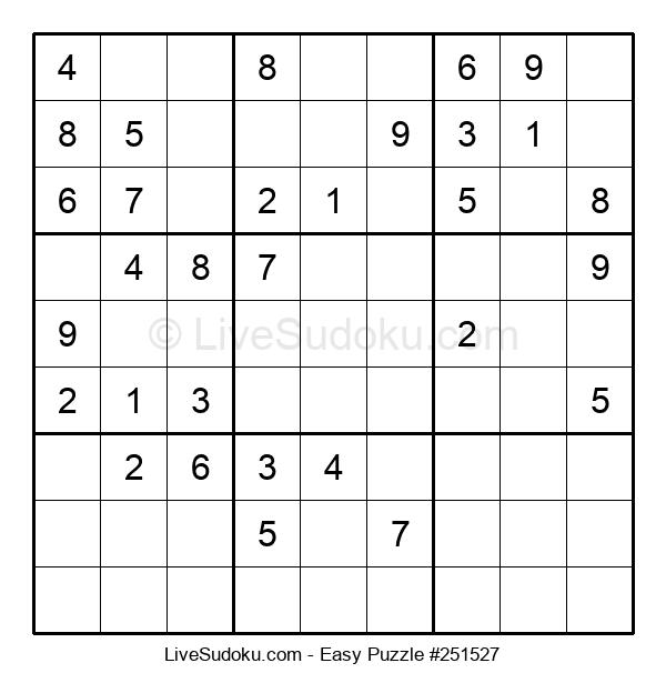 Beginners Puzzle #251527