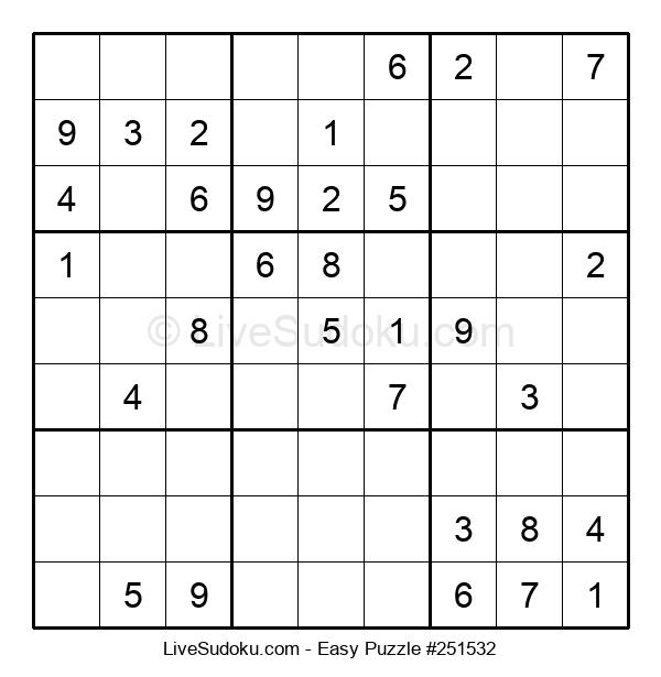 Beginners Puzzle #251532