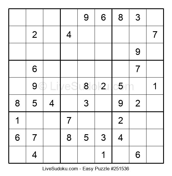 Beginners Puzzle #251536