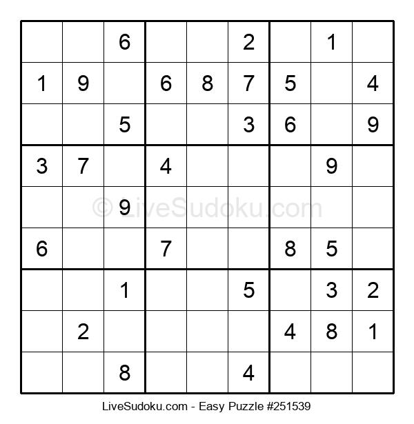 Beginners Puzzle #251539