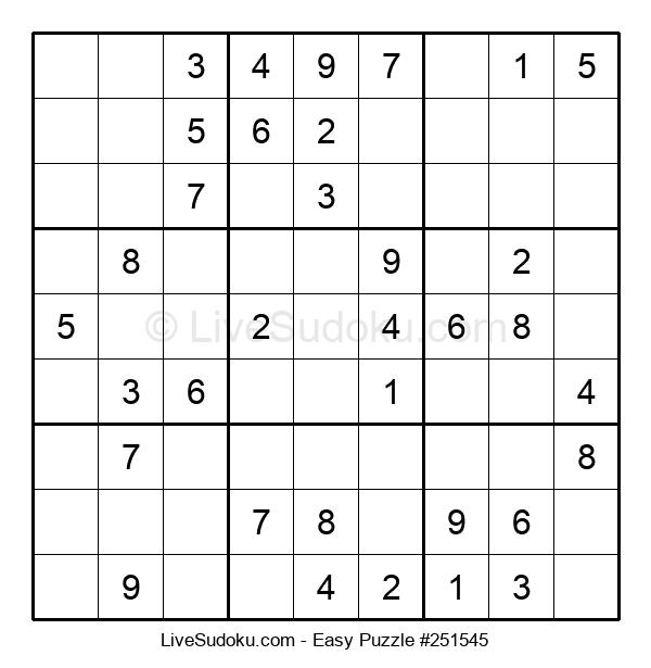 Beginners Puzzle #251545