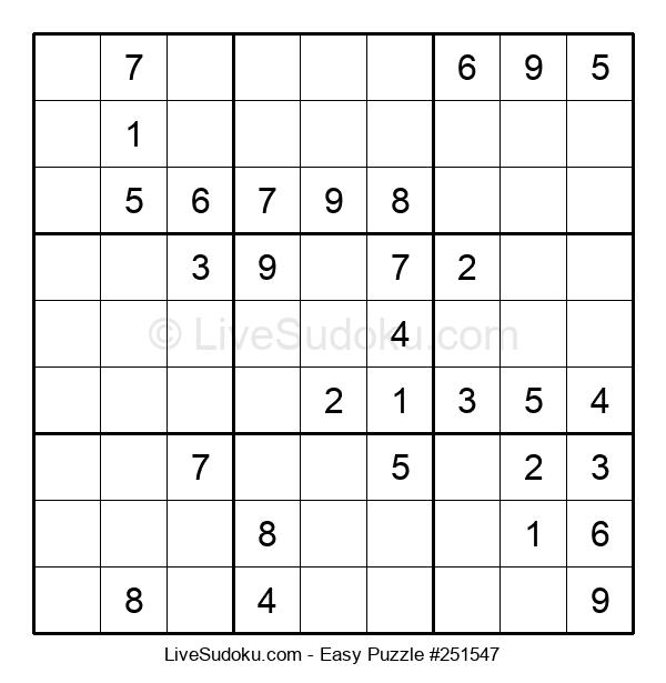 Beginners Puzzle #251547