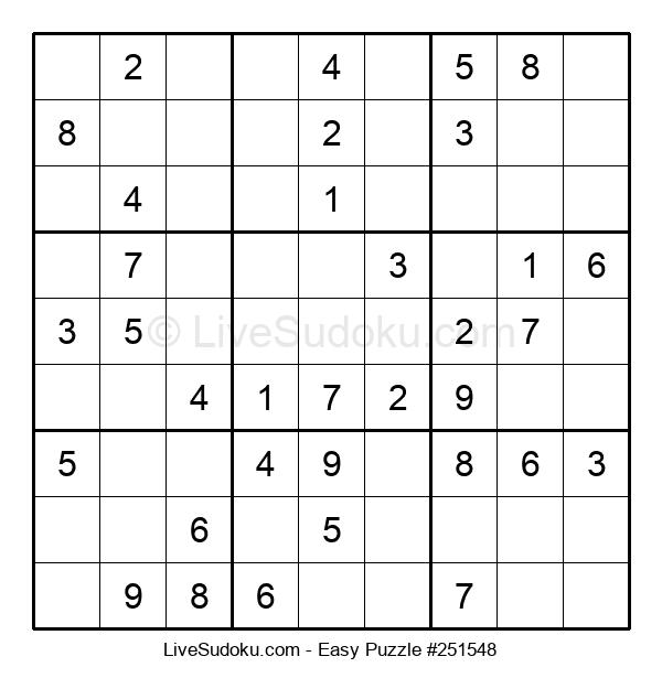 Beginners Puzzle #251548