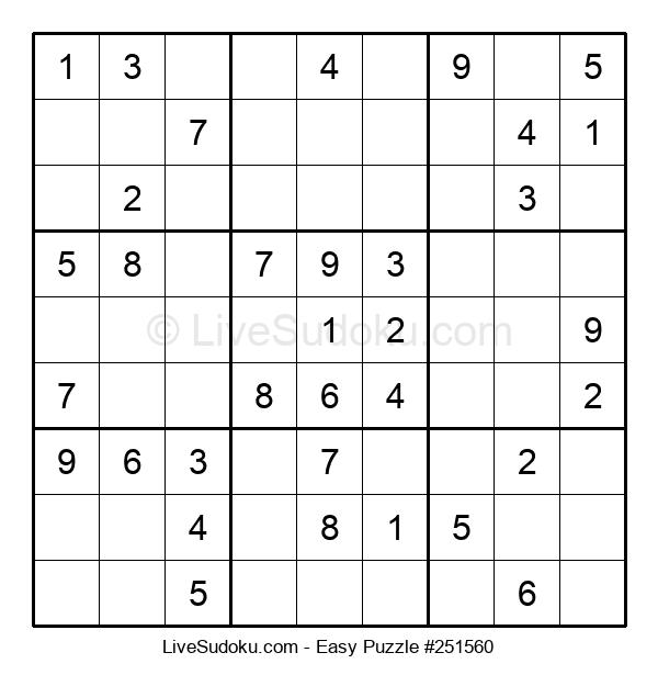 Beginners Puzzle #251560