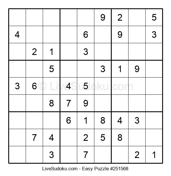 Beginners Puzzle #251568