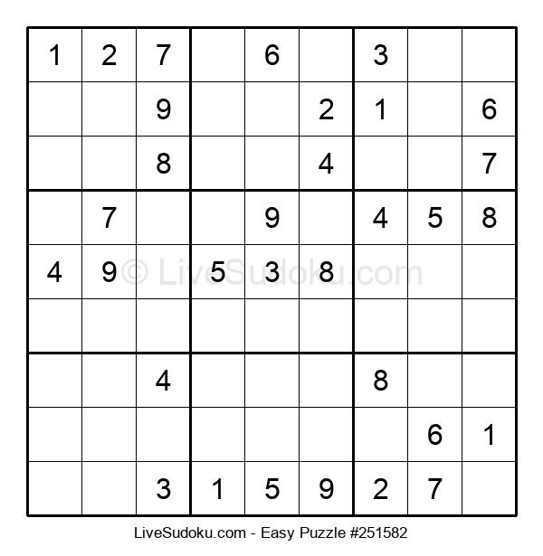 Beginners Puzzle #251582