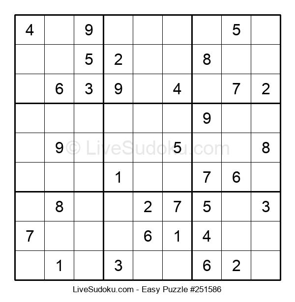 Beginners Puzzle #251586