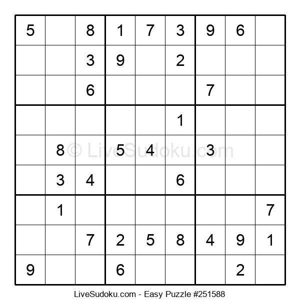Beginners Puzzle #251588