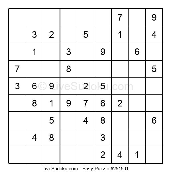 Beginners Puzzle #251591