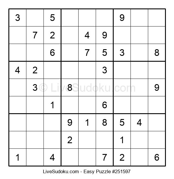 Beginners Puzzle #251597