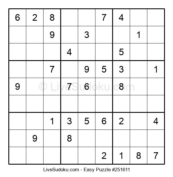 Beginners Puzzle #251611