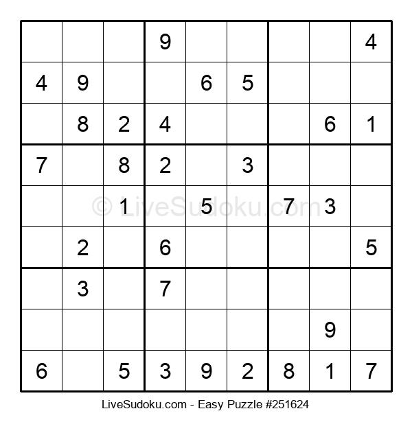 Beginners Puzzle #251624