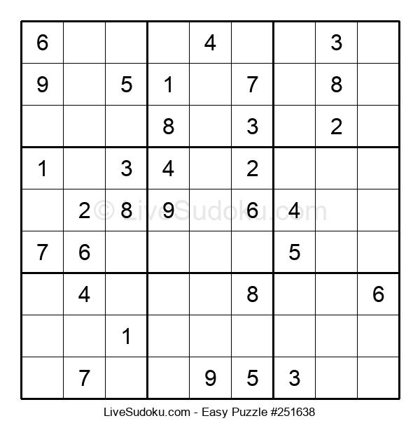 Beginners Puzzle #251638