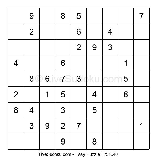 Beginners Puzzle #251640