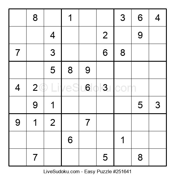 Beginners Puzzle #251641