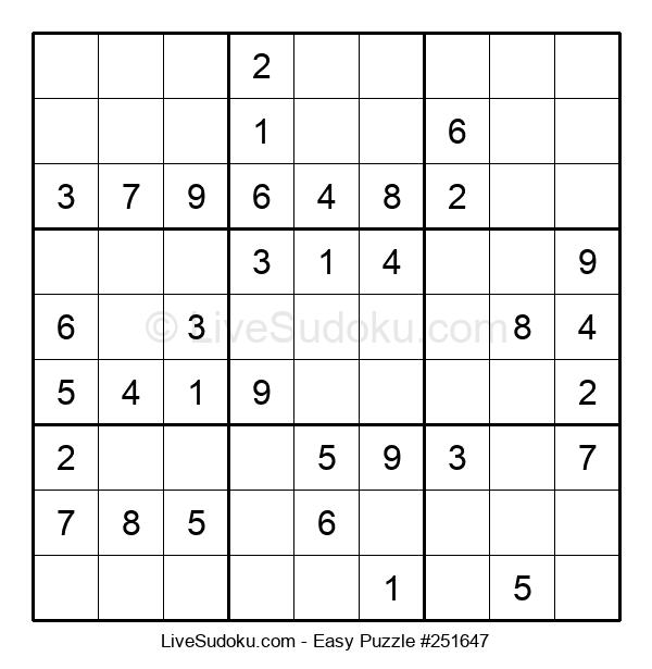 Beginners Puzzle #251647