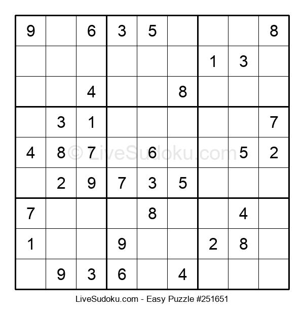Beginners Puzzle #251651