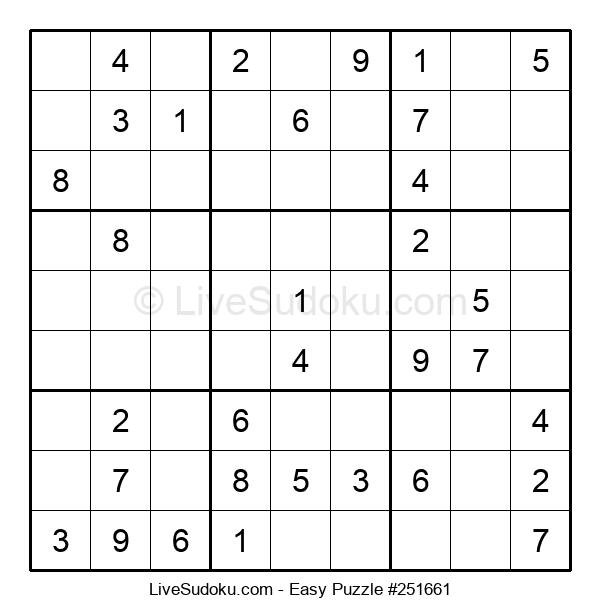 Beginners Puzzle #251661