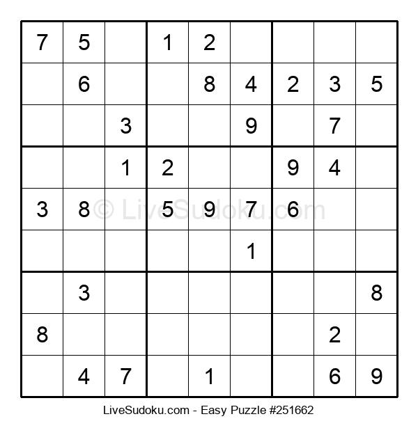 Beginners Puzzle #251662
