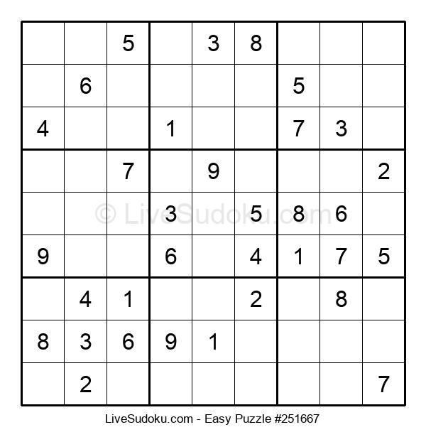 Beginners Puzzle #251667