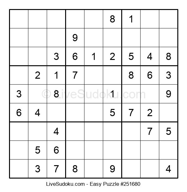 Beginners Puzzle #251680