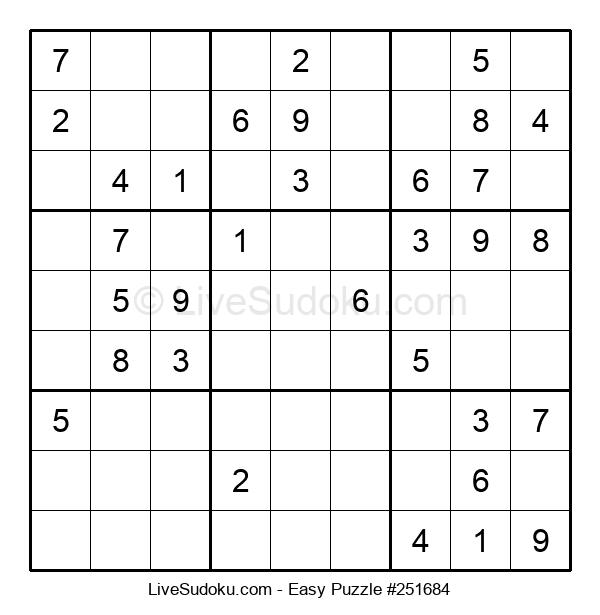 Beginners Puzzle #251684