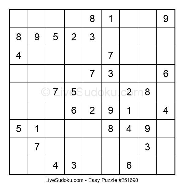 Beginners Puzzle #251698