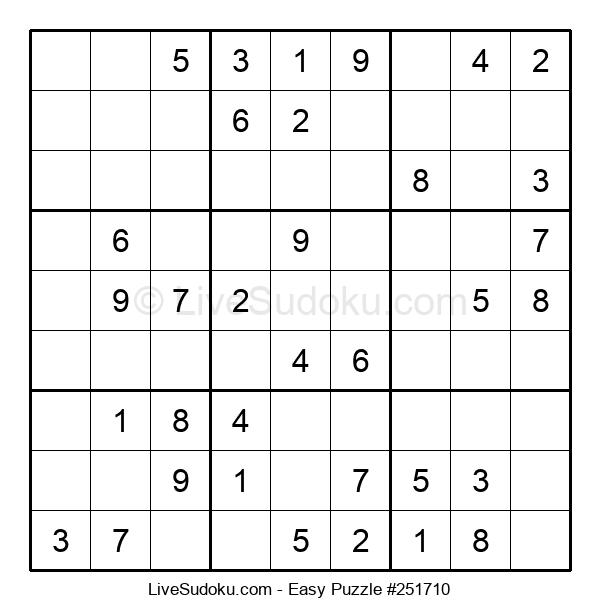 Beginners Puzzle #251710