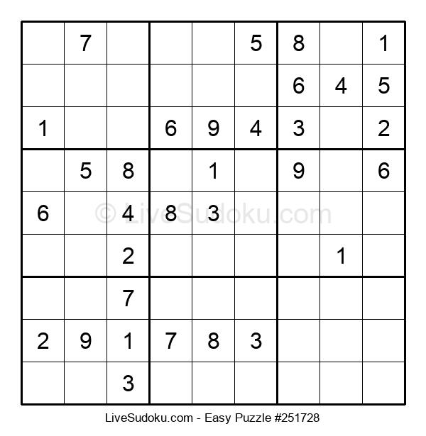 Beginners Puzzle #251728
