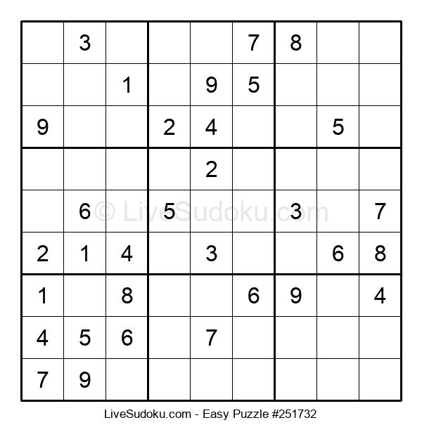 Beginners Puzzle #251732