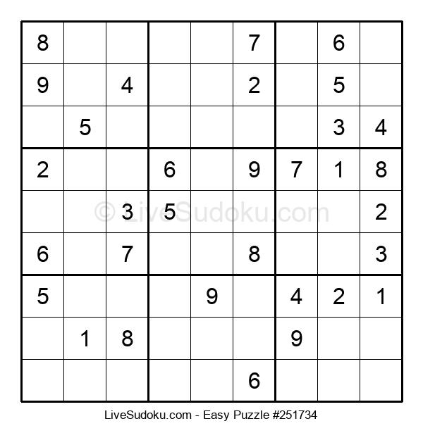 Beginners Puzzle #251734