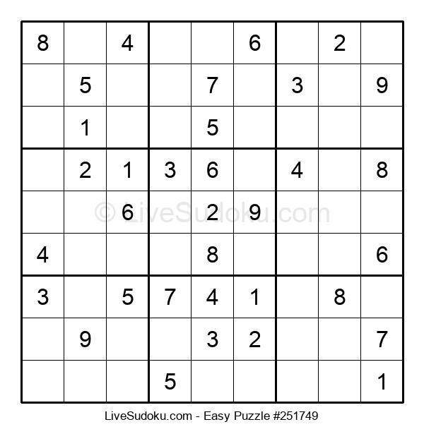 Beginners Puzzle #251749