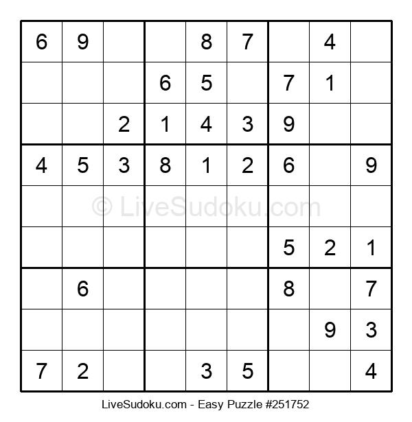 Beginners Puzzle #251752