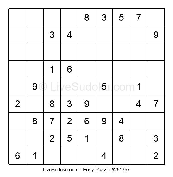 Beginners Puzzle #251757