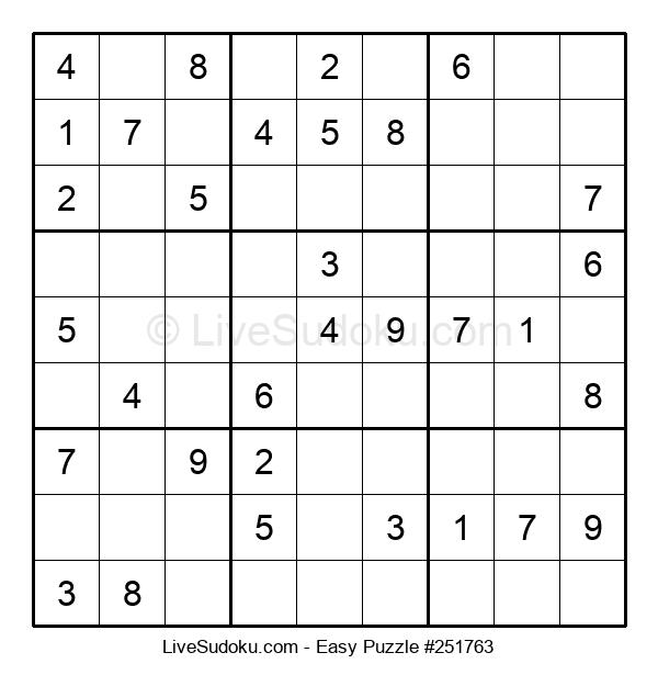 Beginners Puzzle #251763