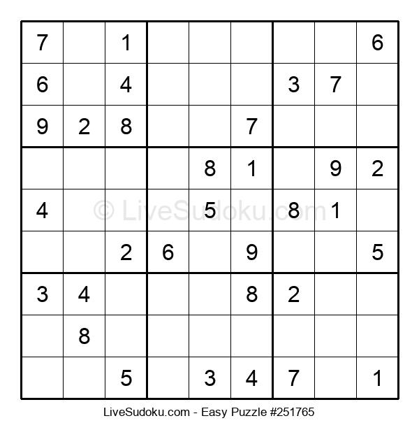 Beginners Puzzle #251765