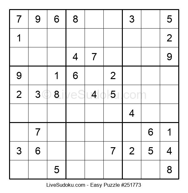 Beginners Puzzle #251773