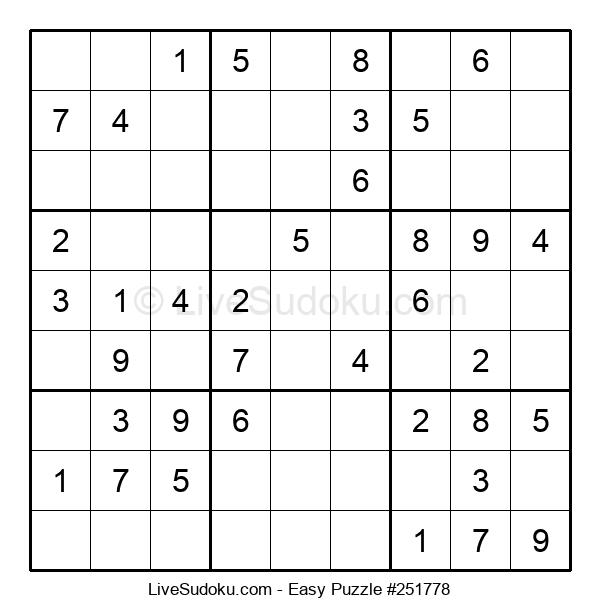 Beginners Puzzle #251778
