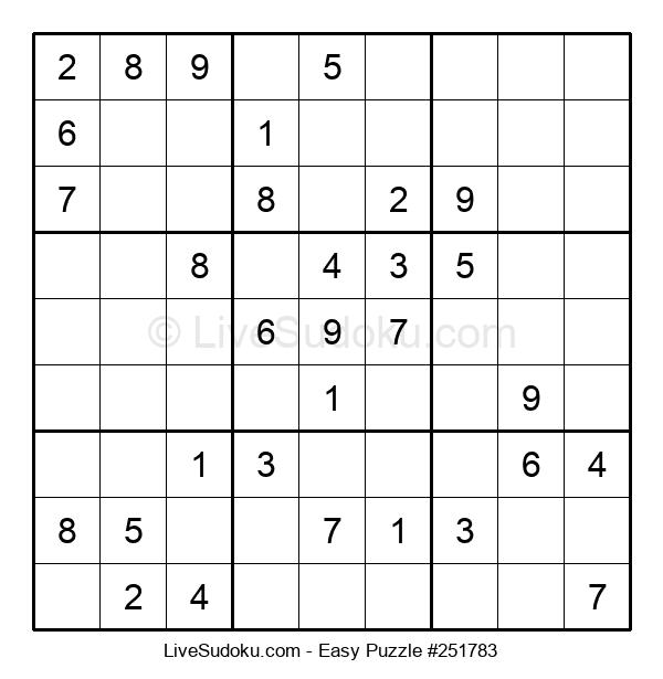 Beginners Puzzle #251783