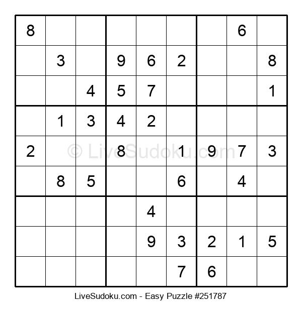 Beginners Puzzle #251787