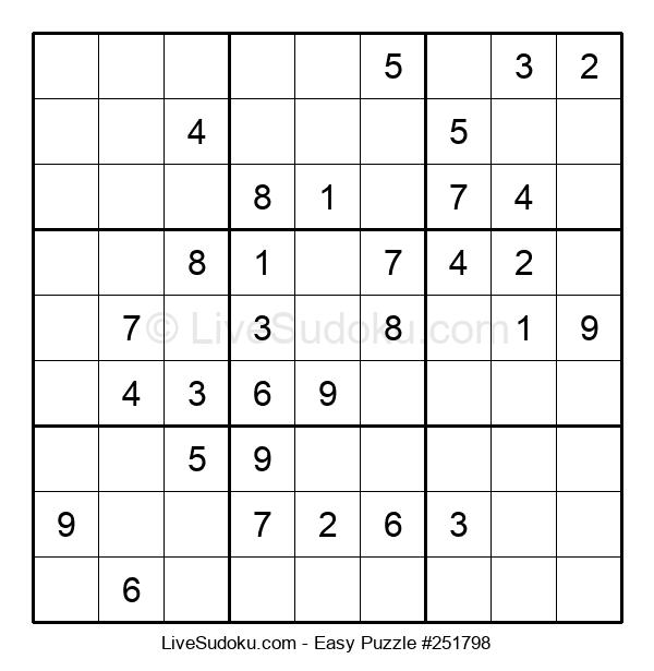 Beginners Puzzle #251798