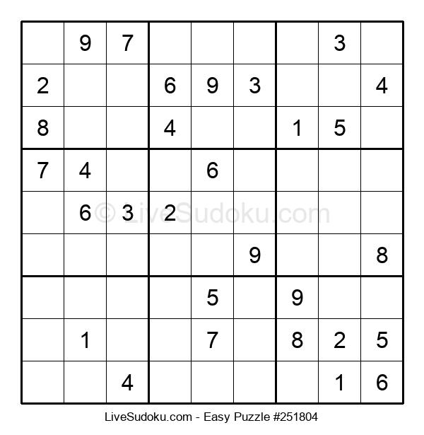 Beginners Puzzle #251804