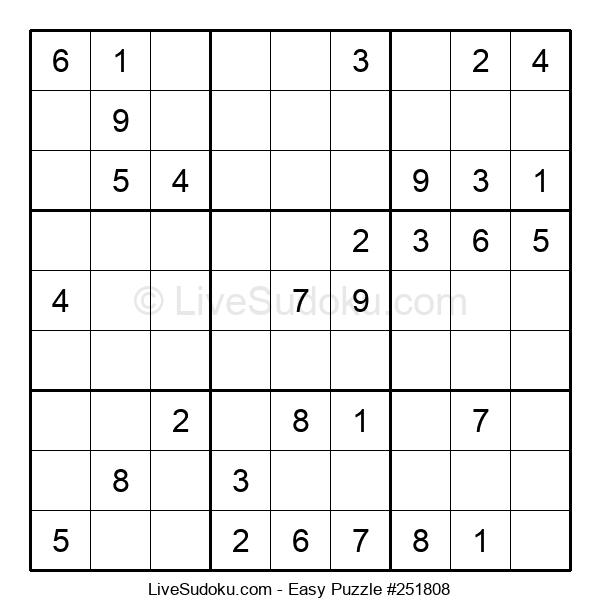 Beginners Puzzle #251808