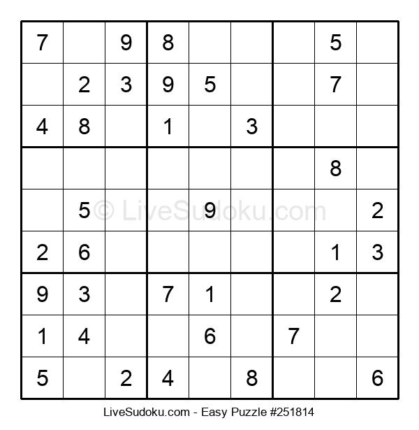 Beginners Puzzle #251814