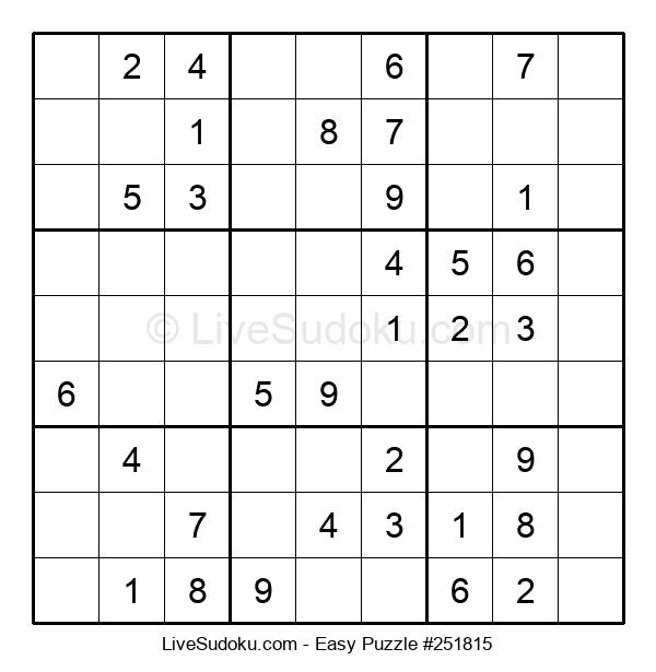 Beginners Puzzle #251815